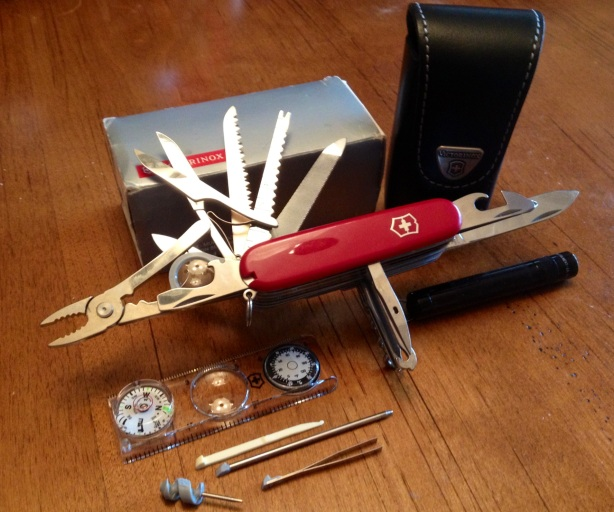 Rare Victorinox Swisschamp Swiss Army Knife Traveler S Set