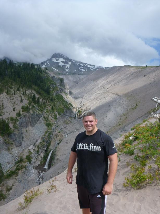 Cam McKirdy at Mt Hood