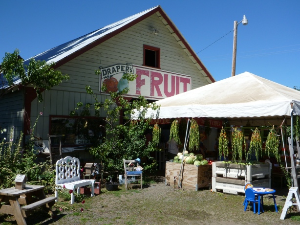 Draper Girl's Fruit Stand
