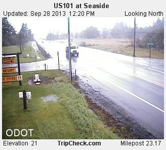 seaside odot flooding
