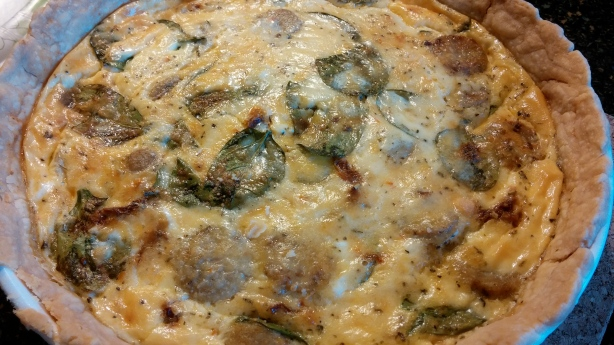 easy quiche meal