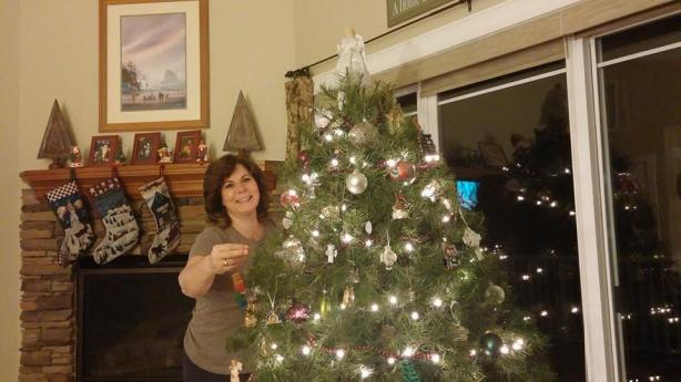 mom christmas tree