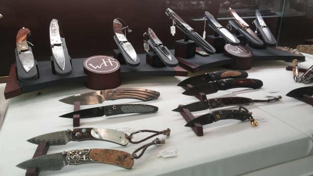 William Henry Knives at a Jewelry Store 2014 HD