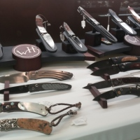 William Henry Knives at a Jewelry Store HD Video