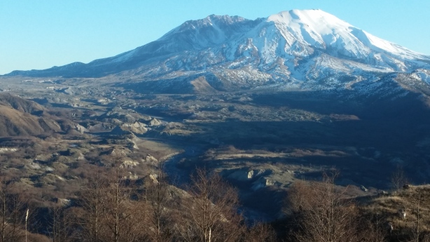 Mount St. Helens lookout