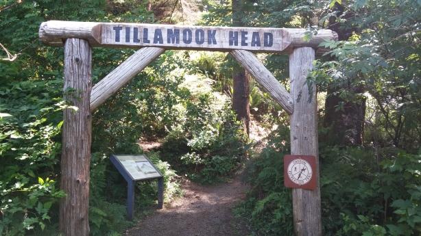 Tillamook Head Sign Seaside