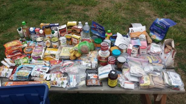 car camping food list