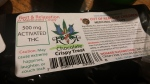 Intense medicine 500 mg. THC