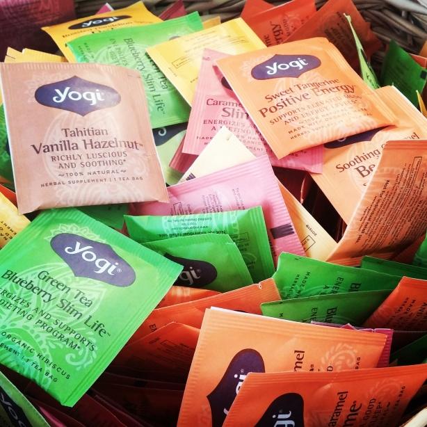 Yogi Tea Samples