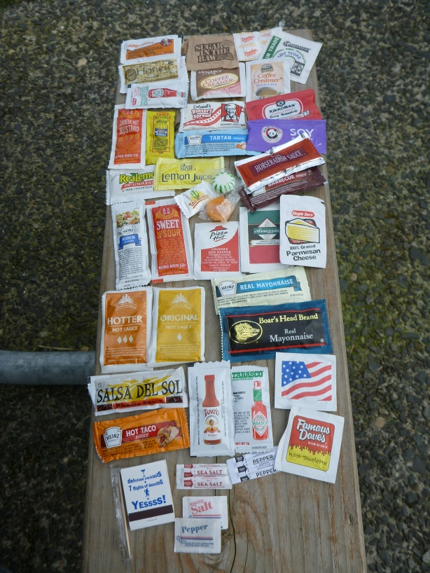 Free Condiments Food Kit
