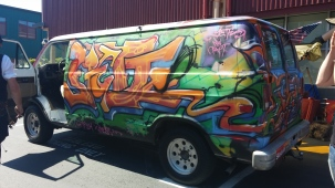 Graffiti Cargo Van in SEA