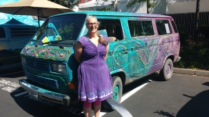 Gyspy Art Vanagon at Show