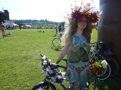 Seattle Goddess at Gas Works Park