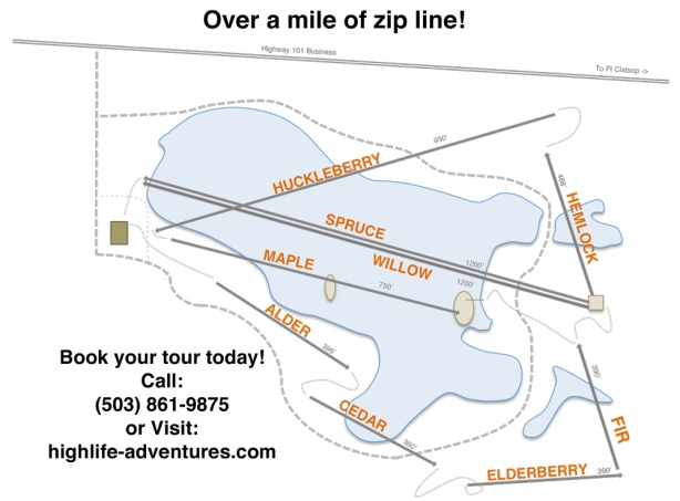High-Life-Zip-Line-Map