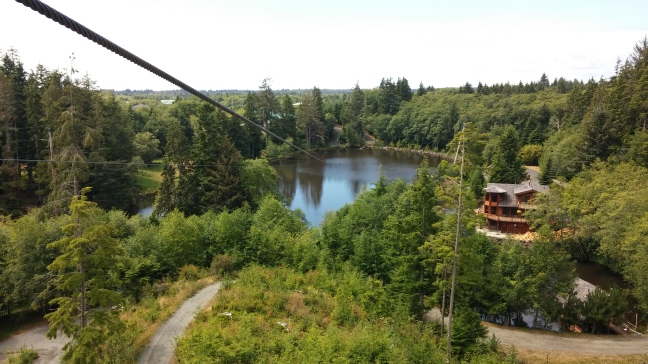 Zip Line Tower View - My favorite picture!