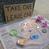 Take One Leave One Project in Seaside Oregon with Time Lapse Photo Slideshow